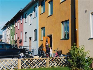 Rosenvang, Malmo. 50s kitchen - Hus&Hem