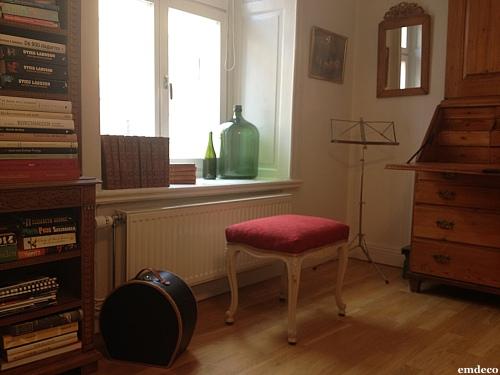 Scandinavian Stockholm apartment interior design lägenhet heminredning